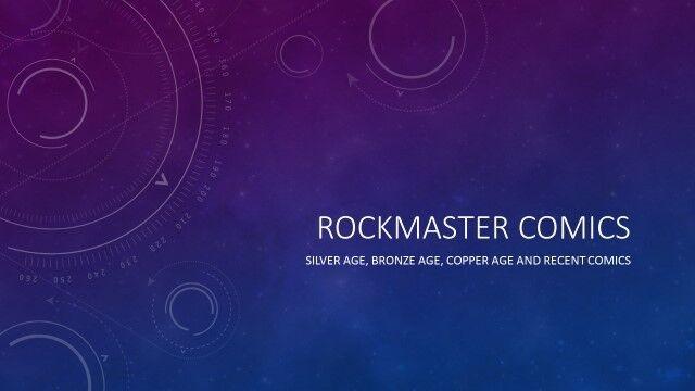 Rockmaster Comics