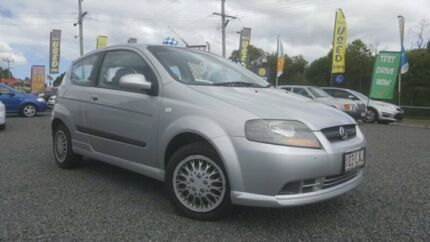 2008 Holden Barina TK MY08 Silver 5 Speed Manual Hatchback Kingston Logan Area Preview
