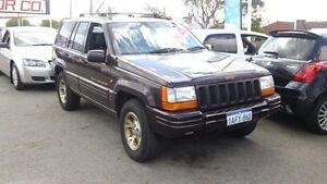 1998 Jeep Grand Cherokee ZG Limited Red 4 Speed Automatic Wagon Victoria Park Victoria Park Area Preview