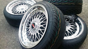 """NEW 18""""JAM Webster staggered (5x112/5x100) + 215/40R18 Nankang"""