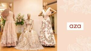 Top Designer's Wedding Wardrobe at Aza Fashions