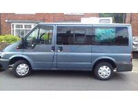 Ford Tourneo camper van. 2 berth + drive away awning.
