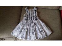 Girl Designer Dress by DAVID CHARLES 5yrs