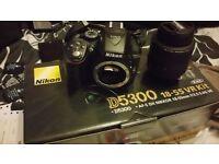 Nikon d5300 immaculate