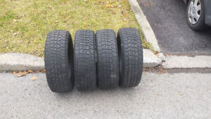 Pneus d'hiver/Winter tires 185/60/R15