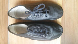 Kids Black Jazz Shoes
