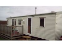 Static caravan (two bedroom, six berth) for sale