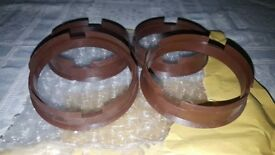 Spigot Rings Set Of 4! 72.6 - 66.6 To Suit Mercedes