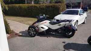 spyder CAN-AM  RS-S SEMI SE5 2014.  7500km