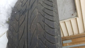 nissan sentra rims and tires 4x114,3 15 inch with all season ti