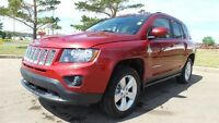 2015 Jeep Compass 4WD NORTH LEATHER SEATS