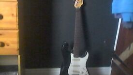 Squier Stratocaster by Fender.