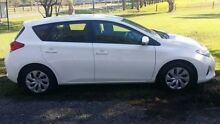 2013 Toyota Corolla ZRE182R Ascent White 7 Speed CVT Auto Sequential Hatchback Tuggerah Wyong Area Preview