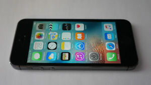 APPLE iPHONE 5S BLACK 16GB - TELUS/KOODO/PUBLIC MOBILE
