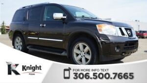 2013 Nissan Armada Platinum 4X4! DVD Package! Navigation! Back U
