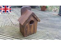 Handmade bespoke garden bird house - great christmas present UK Seller