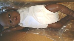 "17"" VINYL NEWBORN BABY BOY AA ANATOMICAL DOLL 1988 NEW IN BOX"