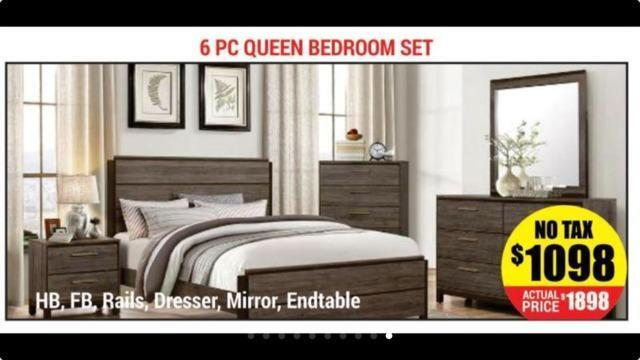 platform queen size 6 pc bedroom sets on sale ad 33 beds