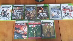 Various Xbox 360 Games For Sale