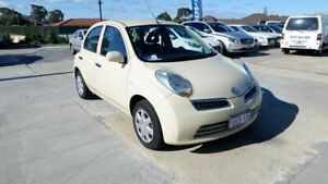2009 Nissan Micra K12 Cream 4 Speed Automatic Hatchback St James Victoria Park Area Preview