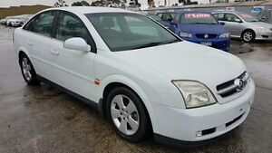 2003 Holden Vectra ZC CDX White 5 Speed Automatic Hatchback