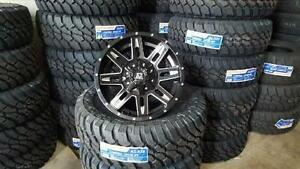 !! BRAND NEW 18X9 +12 OFFSET 8 BOLT $1090 RIDERS AUTOWORKS!!