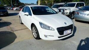 2012 Peugeot 508 Active White 6 Speed Sports Automatic Sedan St James Victoria Park Area Preview