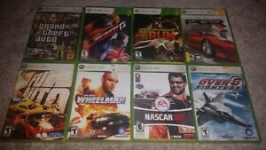 XBOX 360 Driving, Flying, and Sports Games (Various Prices)