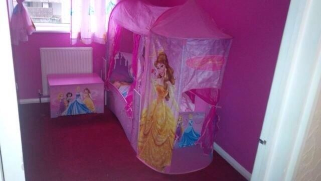 Disney Princess Single Bed
