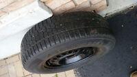 215/70/R15 Snow Tires on Rims (Four)