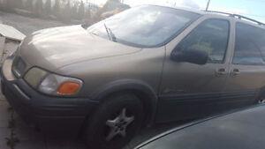 URGENT 2000 Pontiac Montana Minivan