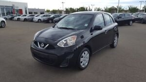 2017 Nissan Micra SV AUTO $12888 Accident Free,  Bluetooth,  A/C