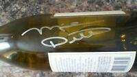 Chicago Bears HOF'er Mike Ditka Autographed Wine Bottle