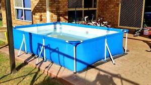 Bestway Steel Frame Above Ground Swimming Pool Coopers Plains Brisbane South West Preview