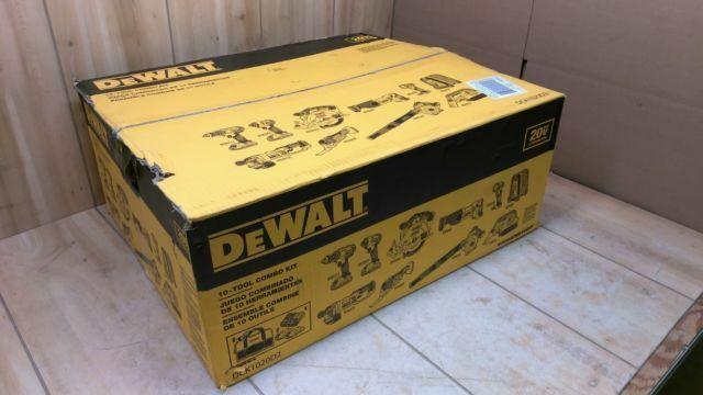 NEW DEWALT DCK1020D2 Combo Kit 20-Volt Max Lithium-Ion Cordl