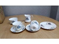 Royal Stafford Blue china set Unused