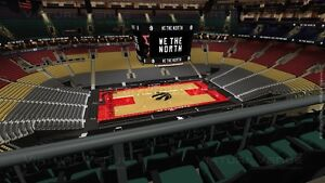 Raptors VS Philadelphia 76ers April 2nd at ACC