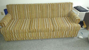 Sofa bed In Excellent condition very clean makes into Queen bed
