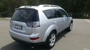 2007 Mitsubishi Outlander ZG VR-X Silver 6 Speed Auto Sports Mode Wagon Revesby Bankstown Area Preview