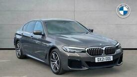 image for 2021 BMW 5 Series 530E M Sport 4Dr Auto Saloon Hybrid Automatic