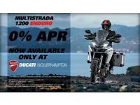 DUCATI MULTISTRADA ENDURO - 0% FINANCE NOW AVAILABLE