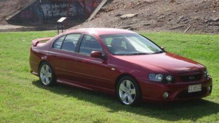 2007 Ford Falcon BF Mk II XR6 Red 6 Speed Sports Automatic Sedan Winnellie Darwin City Preview