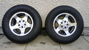 Set of 2 Michelin Tires & Rims (15 in.)