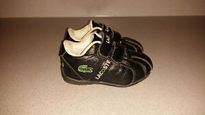 Lacoste kids shoes (size 5 toddler)
