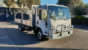 2014 Isuzu NPR NH 200 Medium White Cab Chassis 5.2l 4x2 Melrose Park Mitcham Area Preview