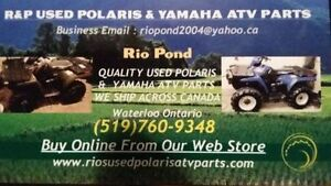 USED POLARIS & YAMAHA ATV PARTS WE SHIP ACROSS CANADA