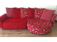 NEW LARGE DFS CORNER SOFA CAN DLEIVER FREEEEE
