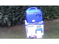 hyundai hy2000si suitecase petrol generator brand new never been used.