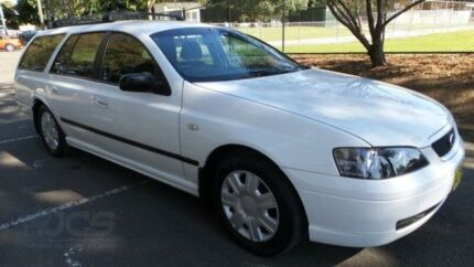 2004 Ford Falcon BA XT (LPG) White 4 Speed Auto Seq Sportshift Wagon Granville Parramatta Area Preview