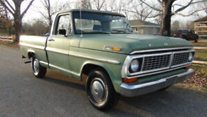 WANTED 67-72  FORD OR MERCURY TRUCK PROJECT